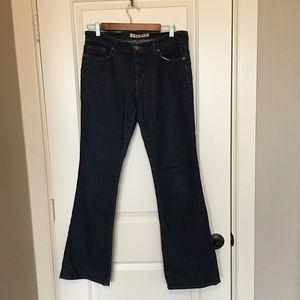 J Brand straight leg blue jeans sz 29